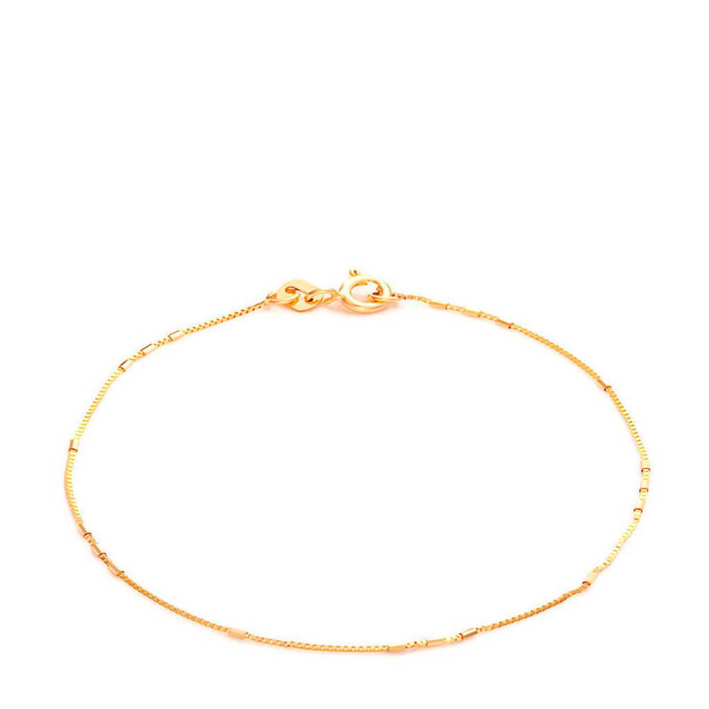 Isabel Bernard 14 karaat gouden armband - IB200118, Goudkleurig
