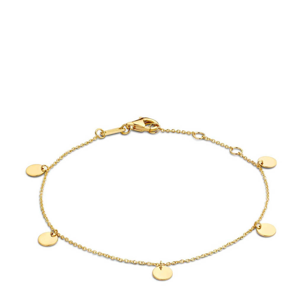 Isabel Bernard 14 karaat gouden armband - IB200122, Goudkleurig