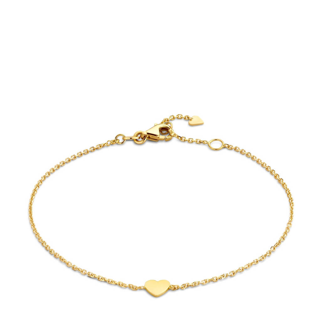 Isabel Bernard 14 karaat gouden armband - IB200126, Goudkleurig