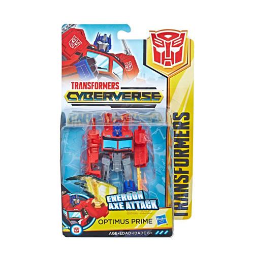 Transformers Cyberverse warrior Optimus Prime actiefiguur kopen