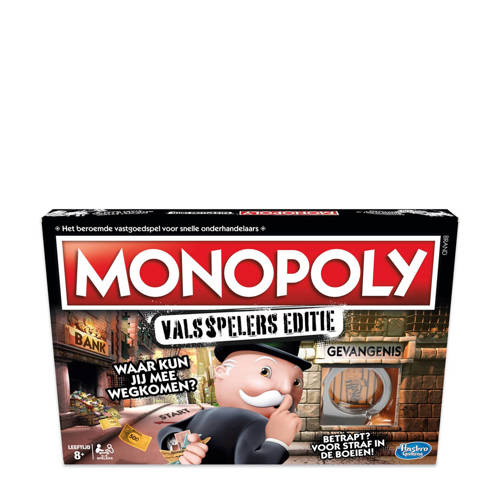 Wehkamp-Hasbro Gaming Monopoly valsspelers editie bordspel-aanbieding