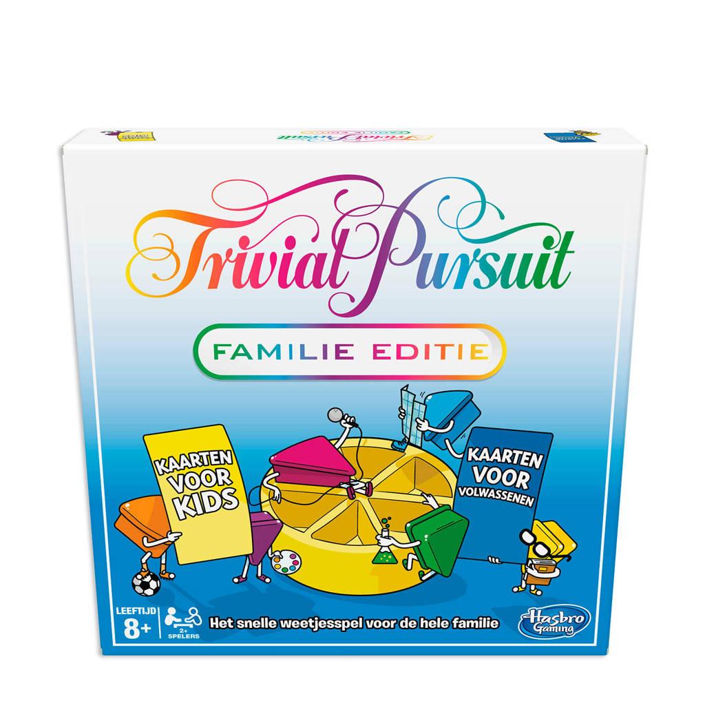 Hasbro Gaming Trivial Pursuit familie editie bordspel
