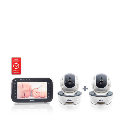 Alecto DVM-200/201 babyfoon met twee camera's kopen