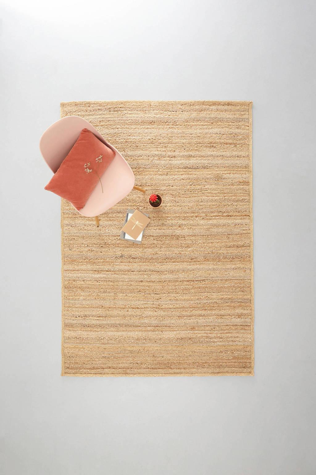 whkmp's own vloerkleed  (230x160 cm), Naturel