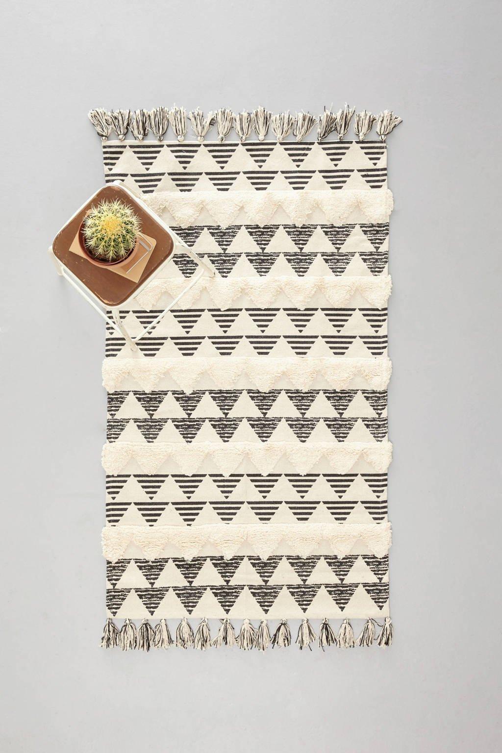 whkmp's own vloerkleed  (150x90 cm), Zwart
