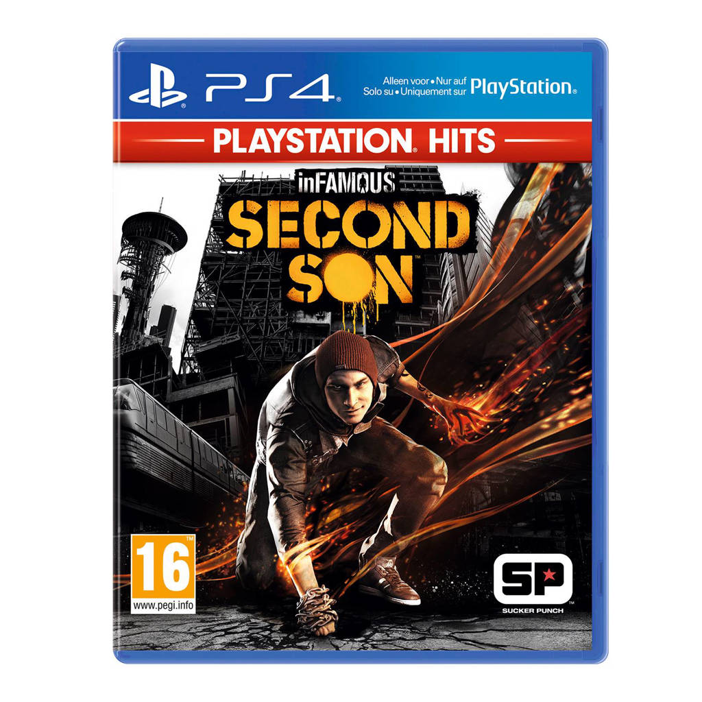 InFamous - Second Son PlayStations Hits (PlayStation 4)