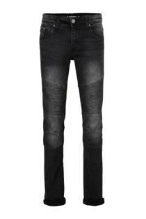 Mitch slim fit jeans Biker zwart (jongens)