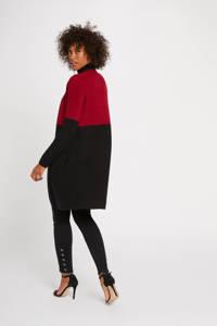 Morgan vest, Rood/zwart
