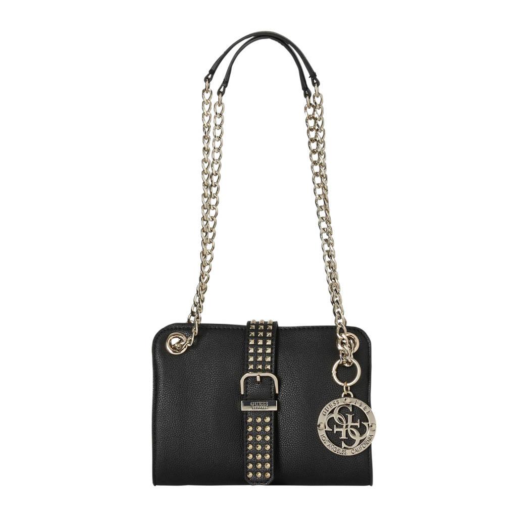 GUESS   crossbody tas Eileen mini zwart, Zwart