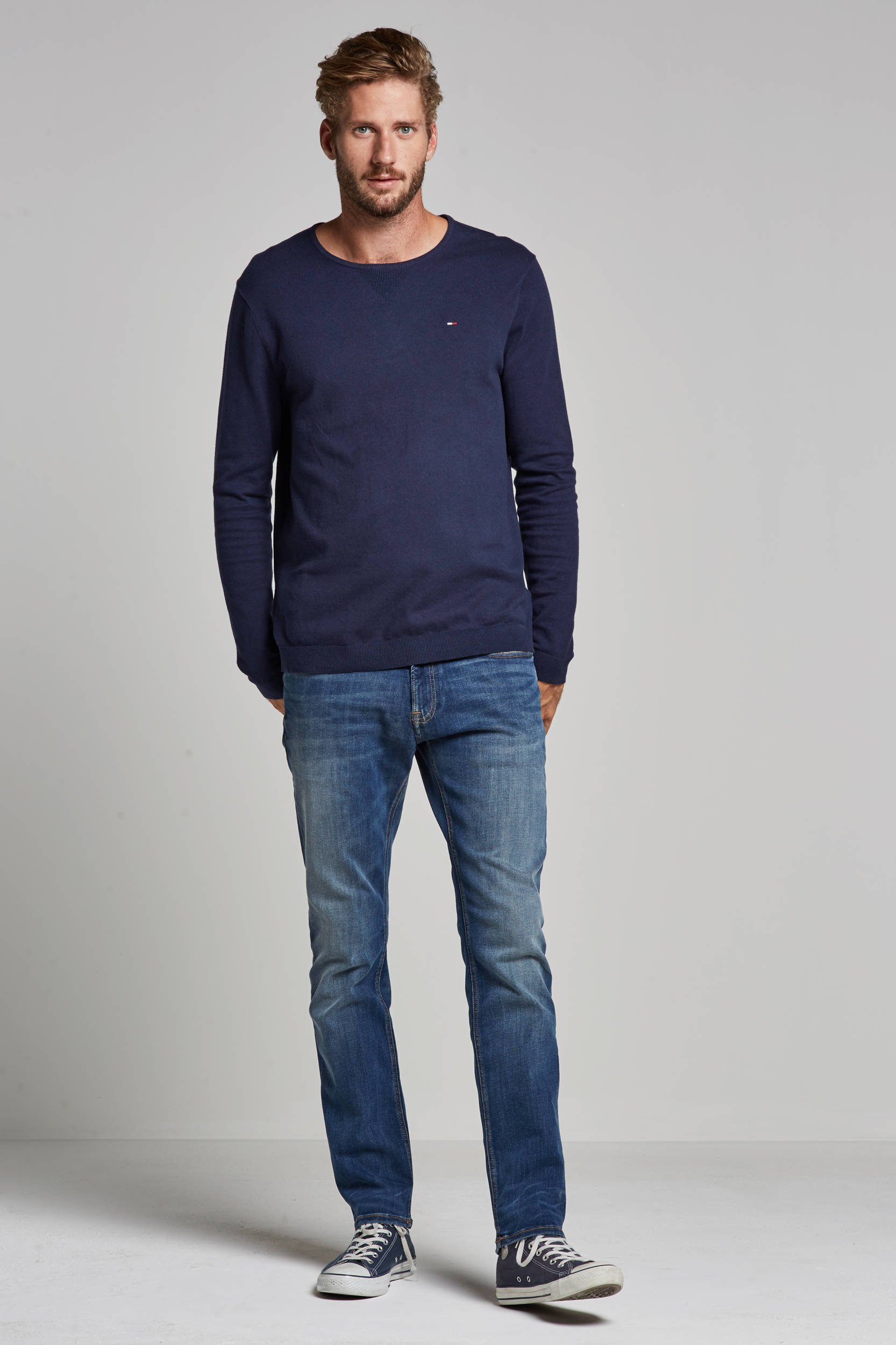Tommy Jeans slim fit jeans Scanton dynamic true mid | wehkamp