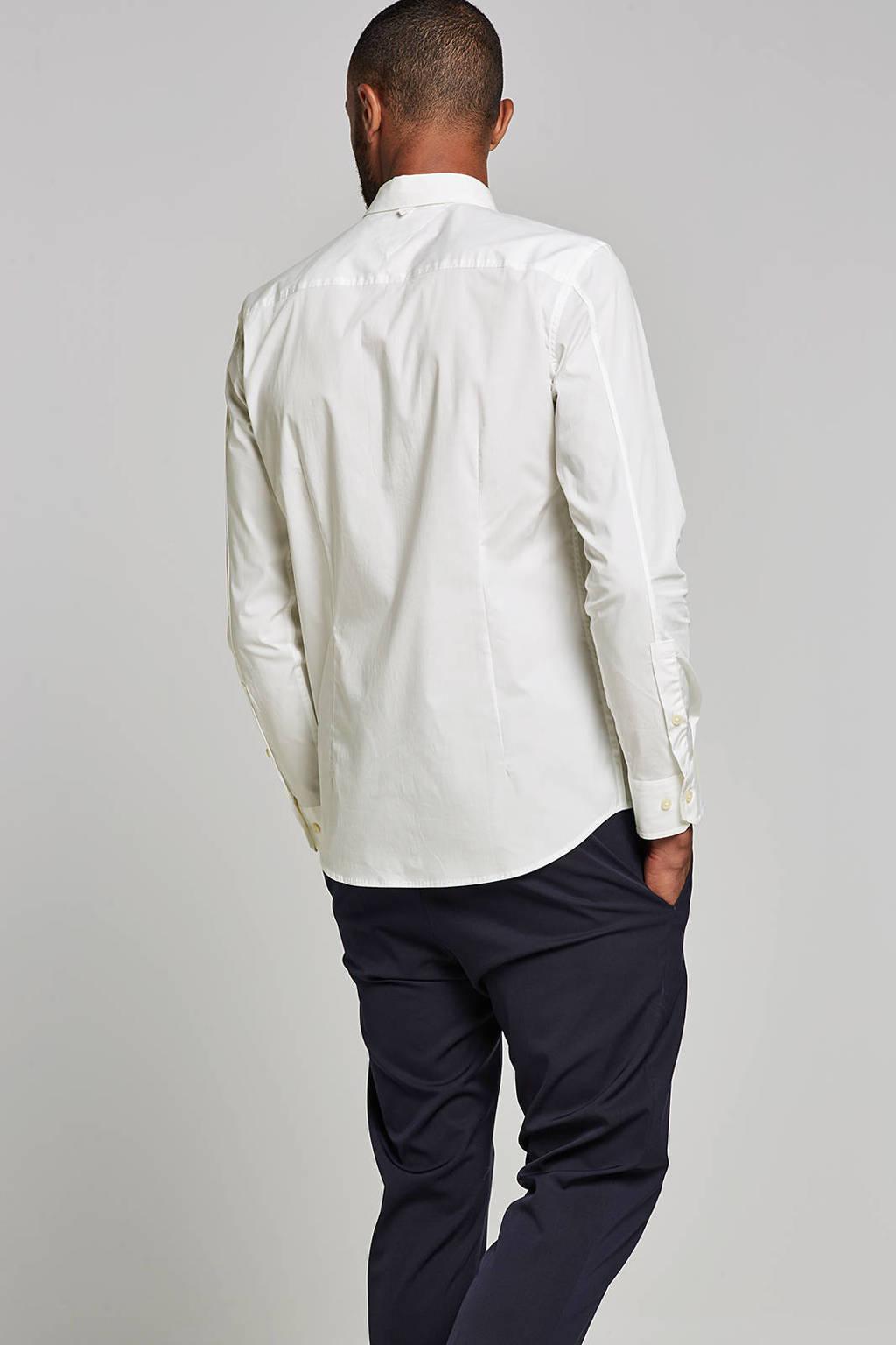 Tommy Jeans slim fit overhemd, Wit