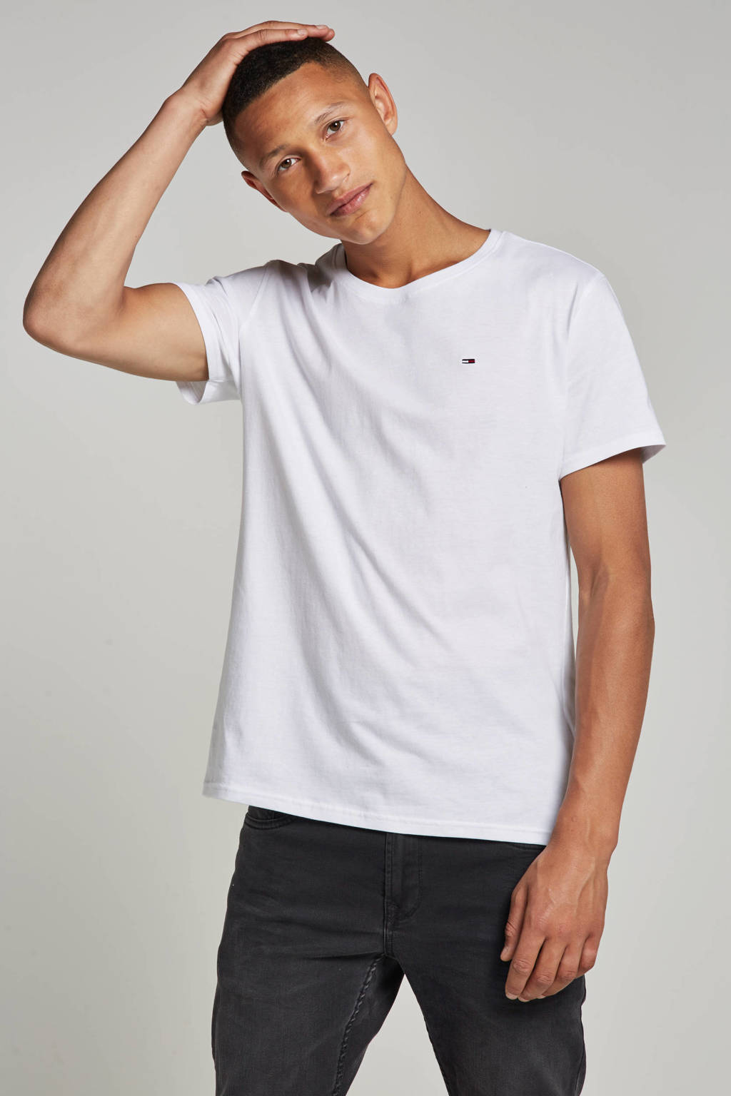Tommy Jeans T-shirt, Wit