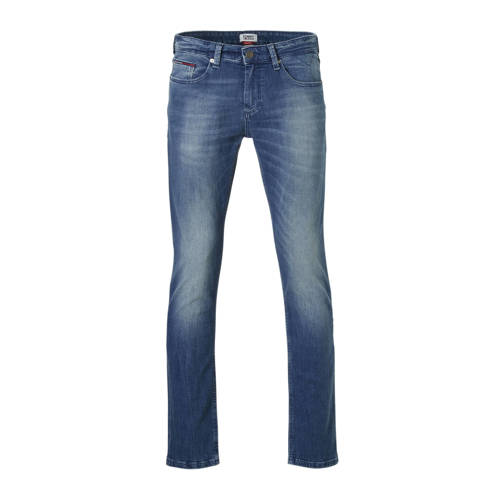 Tommy Jeans slim fit jeans Scanton berry mid blue
