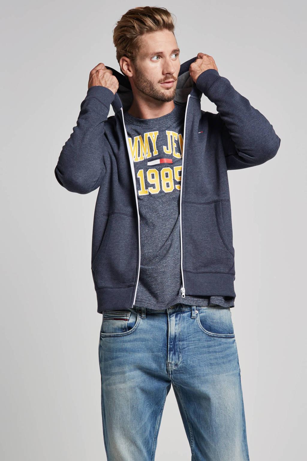 Tommy Jeans sweatvest, Blauw