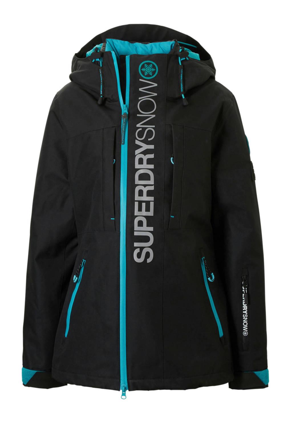 Superdry Sport 3-in-1 ski-jack zwart, Zwart