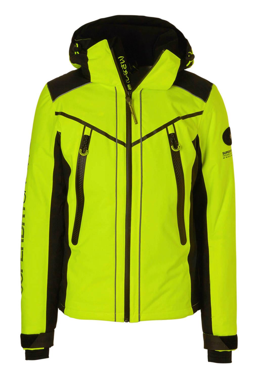 Superdry Sport ski-jack geel, Geel