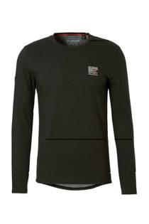 Superdry Sport   sport T-shirt zwart (heren)
