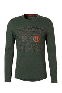 Superdry Sport   sport T-shirt groen (heren)