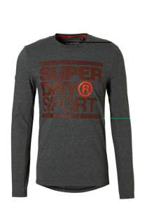 Superdry Sport   sport T-shirt grijs (heren)