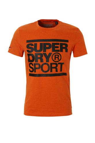 Sport   sport T-shirt oranje