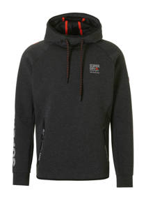 Superdry Sport sportsweater antraciet (dames)