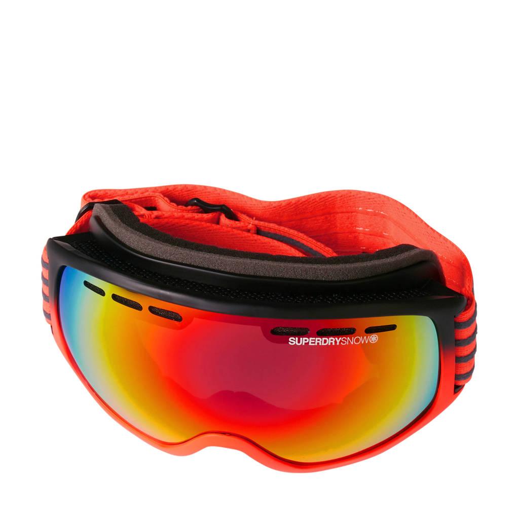 Superdry Sport skibril, Oranje/multi