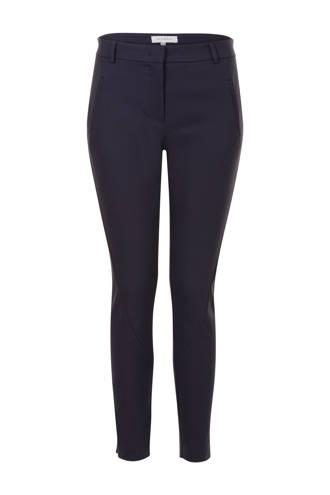 skinny fit broek donkerblauw