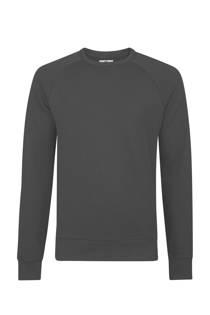 WE Fashion  slim fit sweater zwart (heren)
