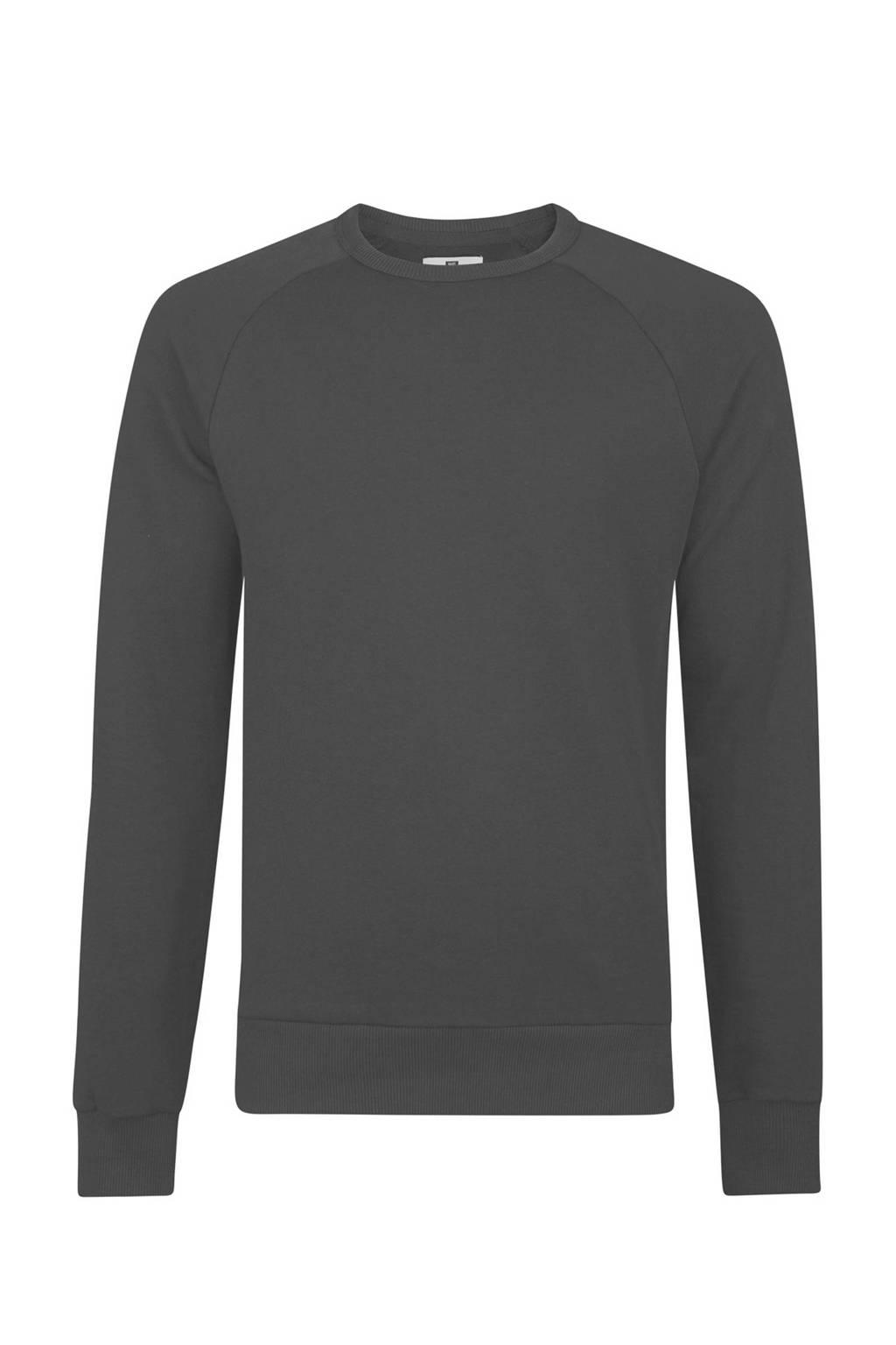 Fit We Fashion Sweater Slim Zwart SUzVMp