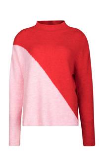 WE Fashion trui rood (dames)