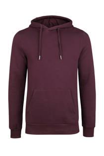 WE Fashion  hoodie aubergine (heren)