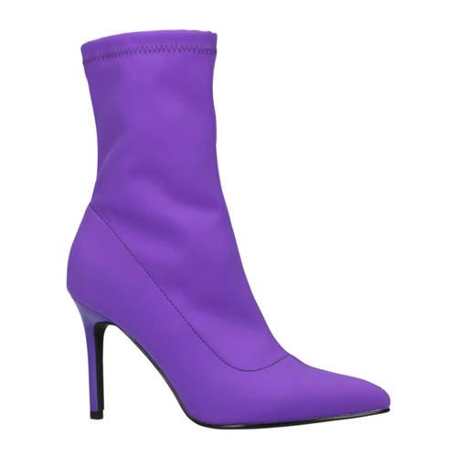 Sacha sock boots paars kopen