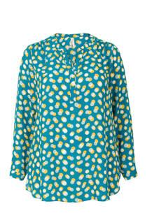 Miss Etam Plus blouse met lange mouw en v-hals (dames)