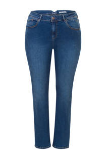 Miss Etam Plus straight fit jeans 32 inch (dames)