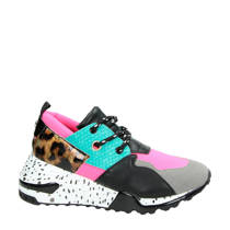 Steve Madden sneakers Cliff roze/turquoise (dames)