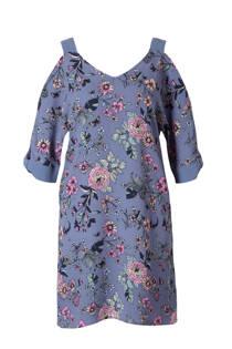 C&A Yessica gebloemde open shoulder jurk lavendel (dames)