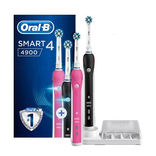 Smart 4 4900 elektrische tandenborstel duoverpakking