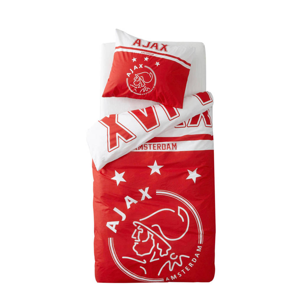Ajax Katoenen Dekbedovertrek 1 Persoons Wehkamp