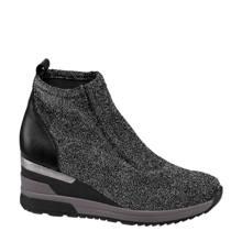 sock boots met glitters
