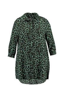 MS Mode blouse met panterprint (dames)