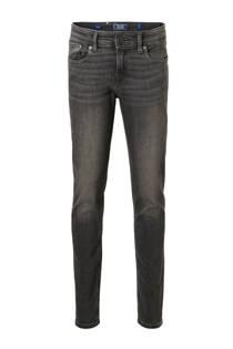 Jack & Jones Junior skinny jeans Liam antraciet (jongens)