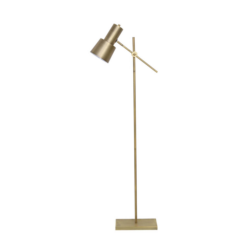 Light & Living vloerlamp, Goud