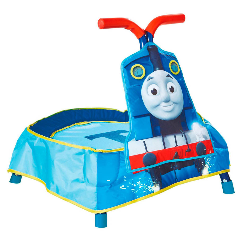 Thomas de trein  kindertrampoline (60x60x56 cm), Blauw