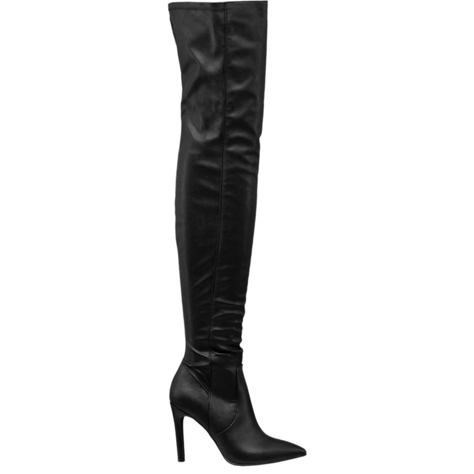 vanHaren Graceland overknee laarzen zwart   wehkamp