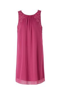 C&A Yessica jurk met borduursels fuchsia (dames)