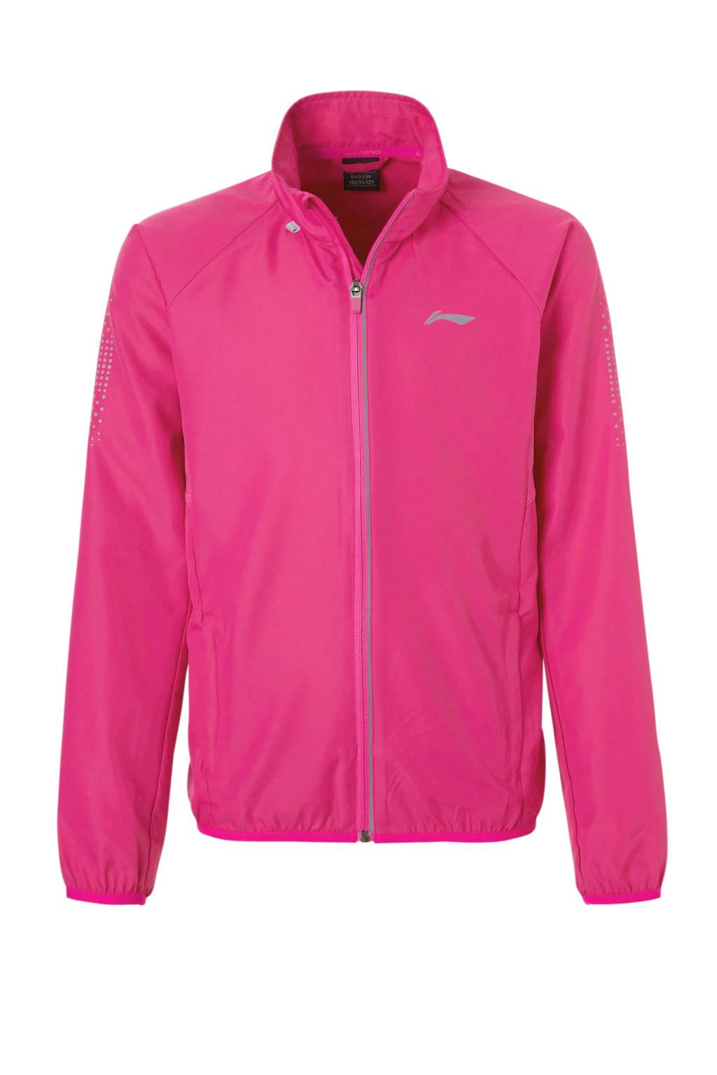 Li-Ning sportvest roze, Roze