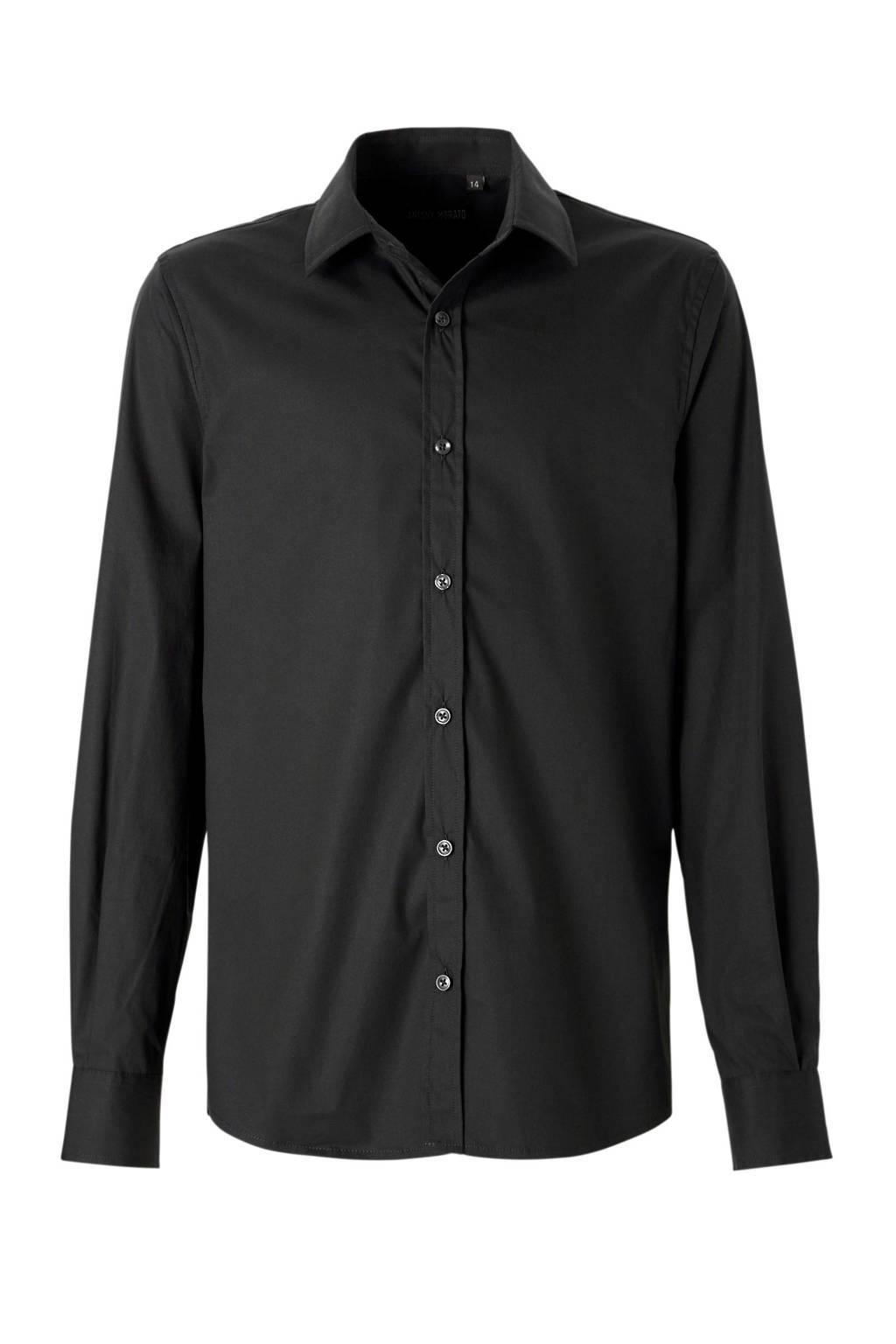 Antony Morato overhemd zwart, Zwart