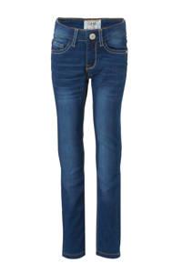 Cars skinny jeans Tyrza dark used, Dark denim