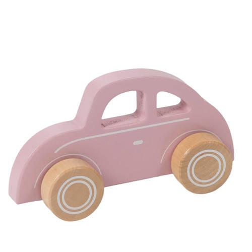 Little Dutch houten auto roze kopen