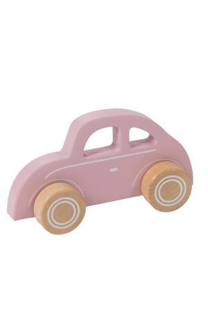 houten auto roze